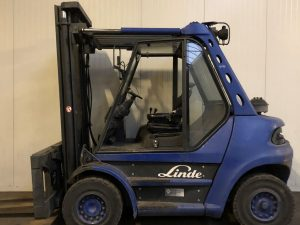 6 ton diesel Linde heftruck huren