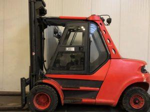 8 ton diesel Linde heftruck huren