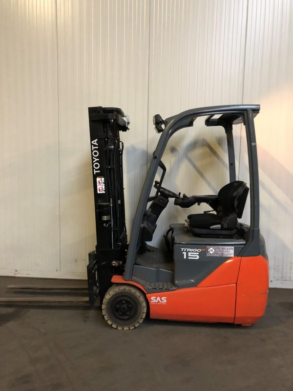 Toyota 1.5 ton elektrische heftruck huren