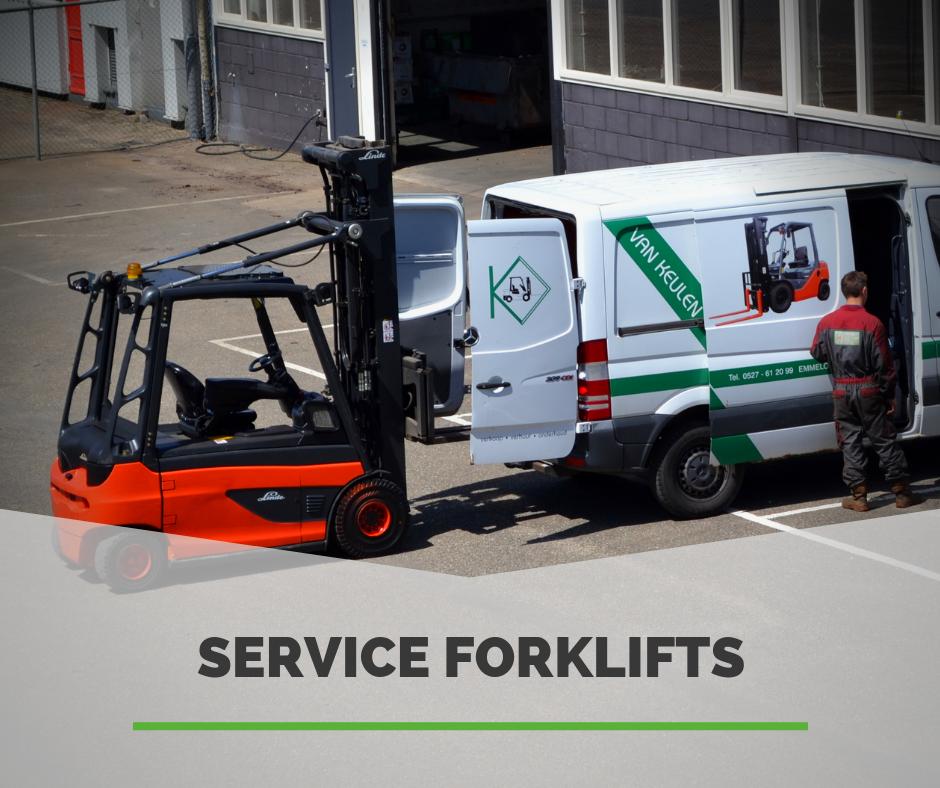 Service en onderhoud heftrucks